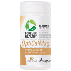 OptiCalMag for bone, heart and arterial system support – 60 Capsules