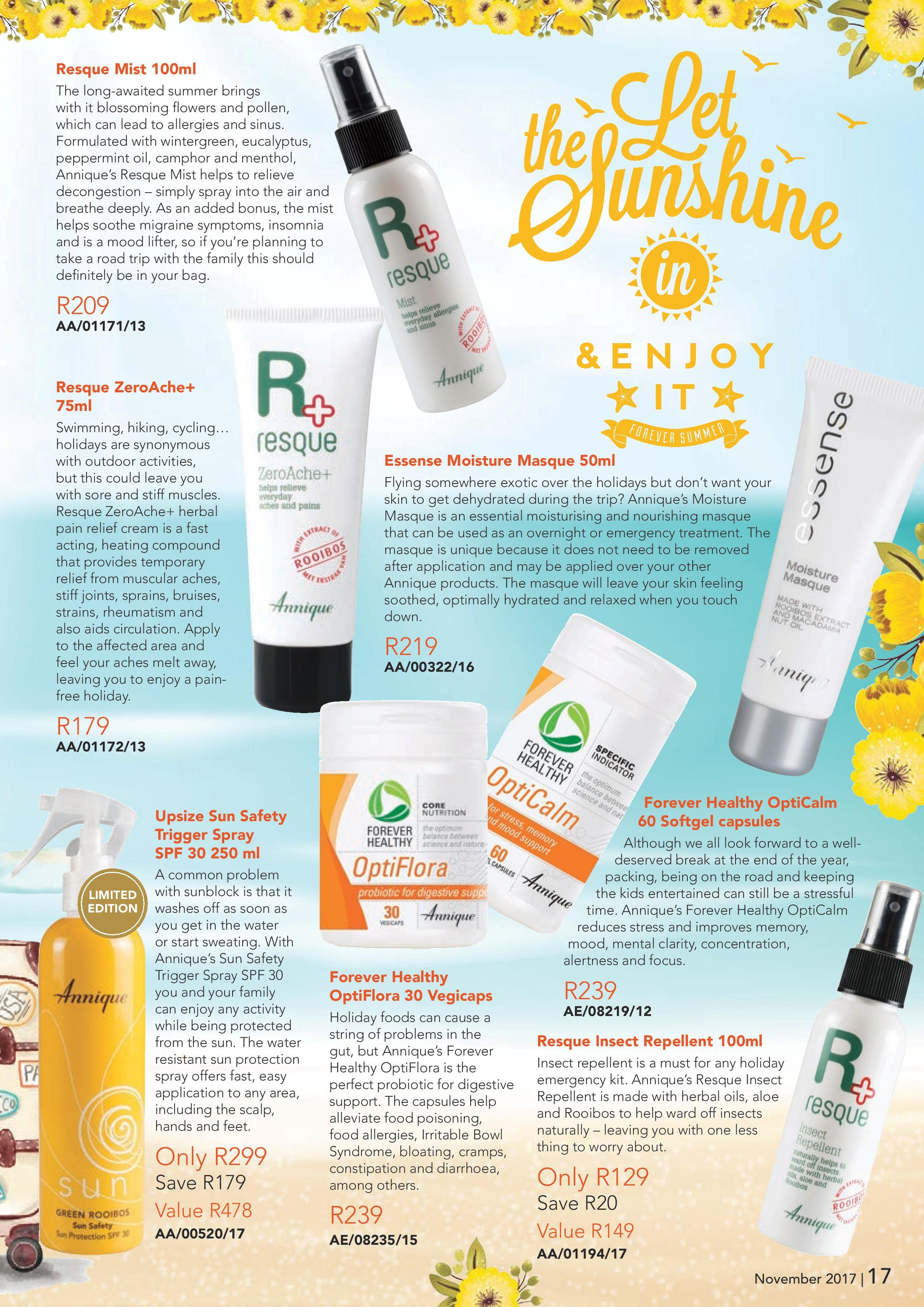 Holiday emergency kit 2 - Annique Rooibos Products